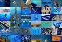 Habermann-Mosaik-Blau